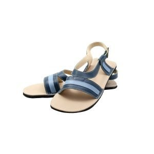 Women's Minimalist Sandals Anemone Blue and Blue