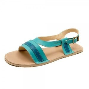 Women's Barefoot Sandals Anemone Sea Blue