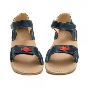 Cute Girl Sandals Ariel Blue