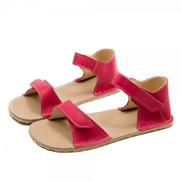 Cute Sandals for Girls Ariel Coral Pink