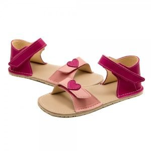 Pink Sandals for Girls Ariel Pink and Fuchsia