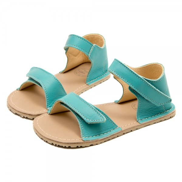 Minimalist Sandals for Girls Ariel Sea Blue