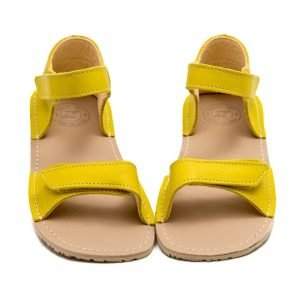 Comfy Sandals for Girls Ariel Yellow