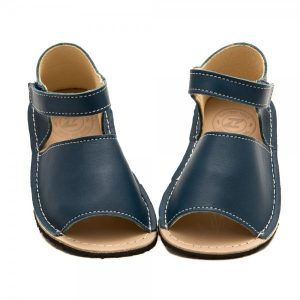 Kids Minimalist Sandals Coral Blue