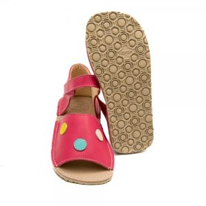 Kids Minimalist Sandals Coral in Coral Pink