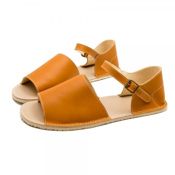 Women's Barefoot Sandals Coral Camel