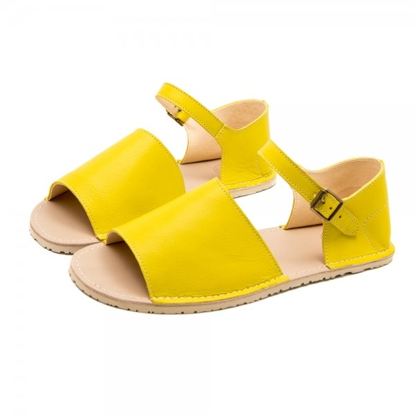Women's Barefoot Sandals Coral Yellow
