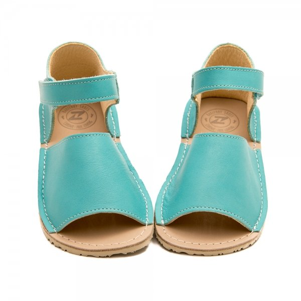 Kids Minimalist Sandals Coral Sea Blue