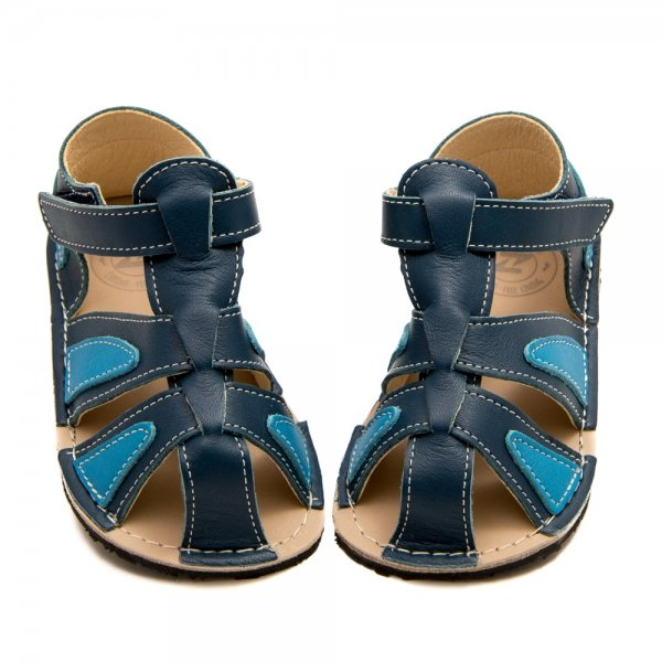 Comfy Toddler Boy Sandals - Goby Blue and Blue