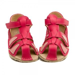 Comfy Toddler Girl Sandals Goby Coral Pink