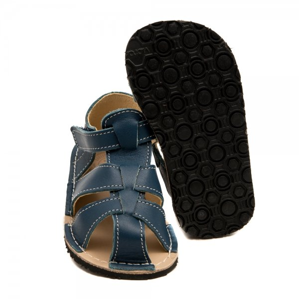 Barefoot Sandals for Toddlers - Goby Blue