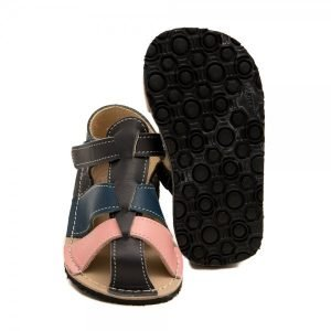 Toddler Sandals Goby Grey, Pink and Blue
