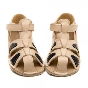 Toddler Barefoot Sandals Goby Vanilla