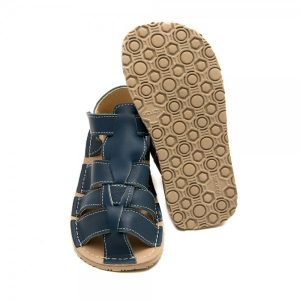 Kids Minimalist Sandals Marlin Blue