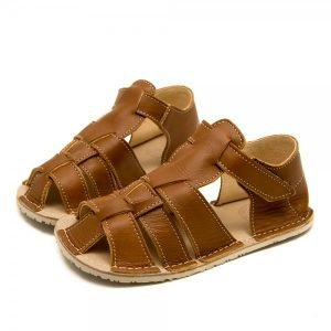 Kids Minimalist Sandals Marlin Brown