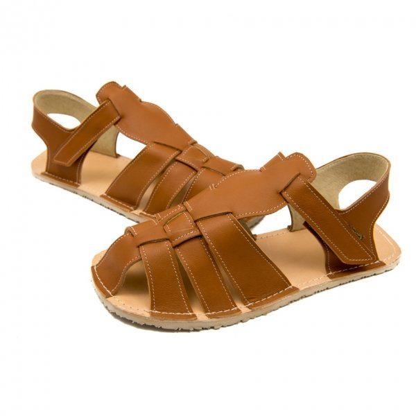 Women's Flat Sandals Marlin Brown