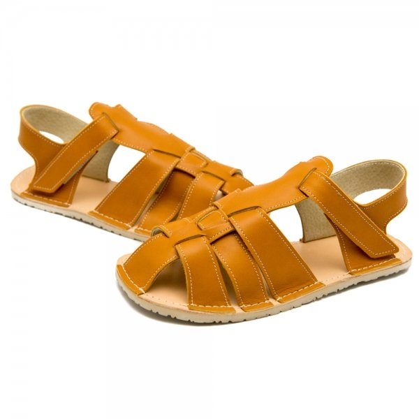 Women's Minimalist Sandals Marlin Camel