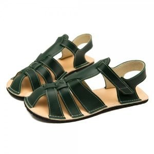 Women's Barefoot Sandals Marlin Dark Green