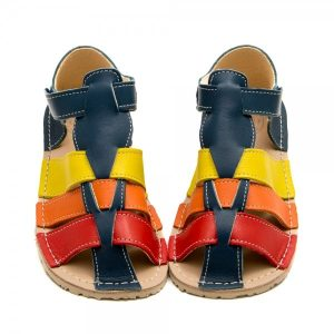 Kids Minimalist Sandals Marlin Multicolour