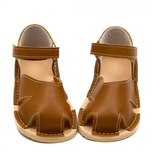 Cute Toddler Boy Sandals Nemo Brown