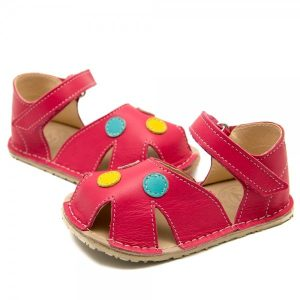 Toddler GIrl Comfy Toddler Girl Comfy Sandals Nemo Coral Pink