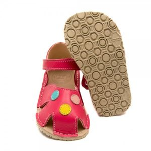 Toddler Girl Comfy Sandals Nemo Coral Pink