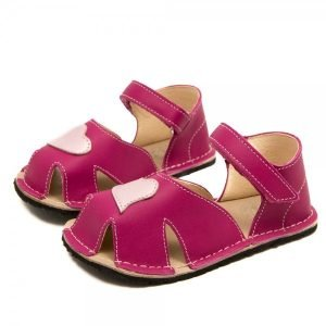 Toddler Girl Comfy Sandals Nemo Fushcia