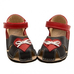 Cute Toddler Girl Sandals Nemo Grey and Red