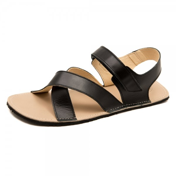 Men's Minimalist Sandals Neptune Black