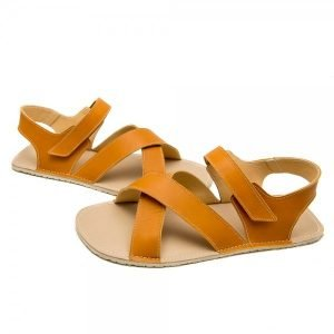 Men's Minimalist Sandals - Neptune Camel