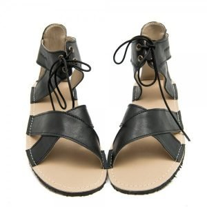 Women's Barefoot Sandals Nymph Black