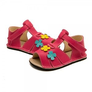 Kids Minimalist Sandals Shell Coral Pink