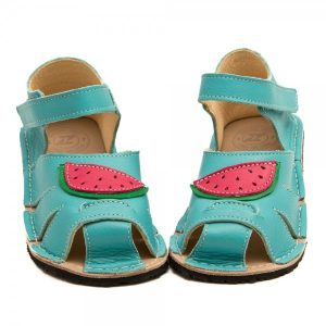 Kids Minimalist Sandals Shell Sea Blue