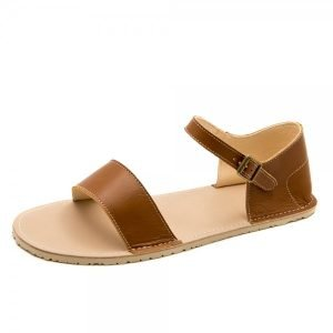 Women's Barefoot Sandals Siren Brown