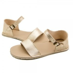 Women's Barefoot Sandals Siren Golden Beige