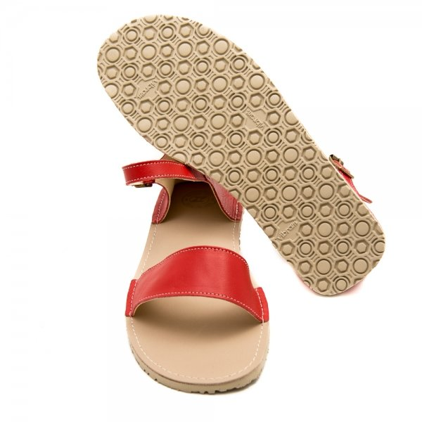 Women Barefoot Sandals Siren Red