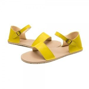 Women Barefoot Sandals Siren Yellow