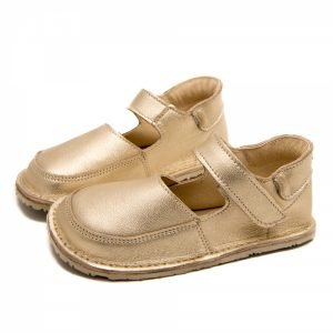 Golden shoes for girls Ibis