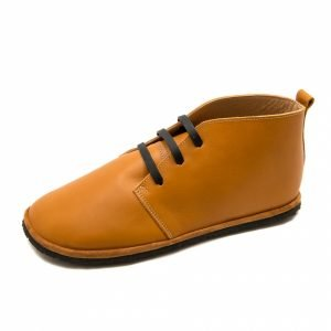 Barefoot Boots for Men Pelican in Camel Leather