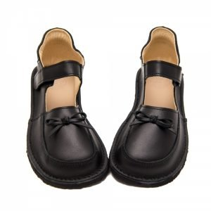 Zeazoo Ibis Black School Shoes