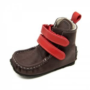 Yeti-Brown-Red-Wool-Barefoot-Boots