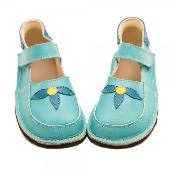 Barefoot shoes in blue Ibis