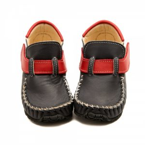 Grey moccasins shoes Leo