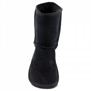 Zeazoo Dingo Ladies Black Mid-calf Sheepskin Boots