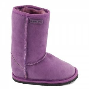 Zeazoo Dingo Purple Mid-calf Sheepskin Boots