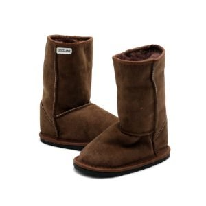 Zeazoo Dingo Brown Mid-calf Sheepskin Boots