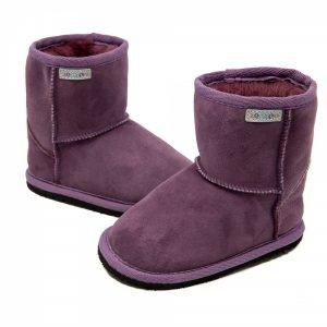 Zeazoo Dingo Purple - Anlke SheepskZeazoo Dingo Purple - Ankle Sheepskin Boots Boots