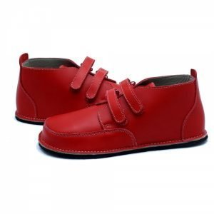 Red barefoot boots Fox