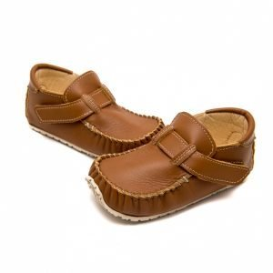 Zeazoo Leo Brown Leather Loafer and Slip-on Moccasins