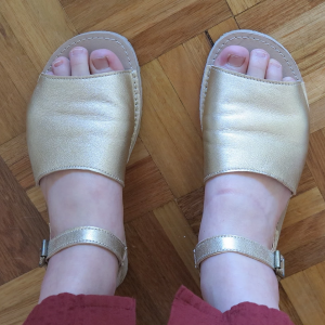 Zeazoo Coral Sandals - Review by The Barefoot Shoe Review